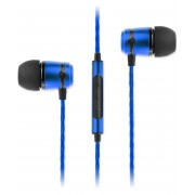 SoundMAGIC E50C In Ear Isolating Earphones with Mic Blue