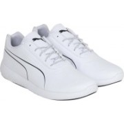 Puma BMW MS Speed Cat Synth Walking Shoes For Men(White, Black)