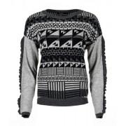 Desigual ženski džemper Tormenta L siva