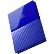 HDD Extern Western Digital My Passport NEW, 2TB, 2.5 inch, USB 3.0 (Albastru)