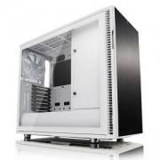Кутия за компютър Fractal Design Define R6 USB-C White – TG, 3 x Dynamic X2 GP-14 140mm, бял, FD-CA-DEF-R6C-WT-TGC