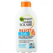 Garnier Ambre Solaire Resisto Kids leite protetor para crianças SPF 50+ 200 ml