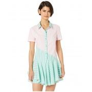 BCBGeneration Color Block Shirtdress - ZCP6194383 Pink