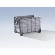 Certeo Großbehälter aus Polyethylen - Inhalt 550 l, 4 Füße zum Unterfahren - ab 5 Stk