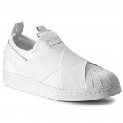 Обувки adidas - Superstar Slip On BZ0111 Ftwwht/Ftwwht/Ftwwht