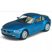 Zest 4 Toyz BMW Z4 Coupe(Assorted Color), Die-Cast Model Car with Doors Openable and Pull Back Action.