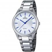 Reloj Festina F16875.3 - Plateado y Azul