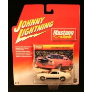Johnny Lightning Mustang & Fords 1970 Ford Mustang Mach 1 White