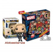 Black Widow Con Rompecabezas Marvel Funko Pop Avengers War