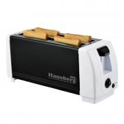 Prajitor paine 4 felii Hausberg HB-185, 1300W, negru