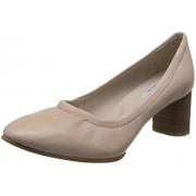 Clarks Women's Grace Isabella Pink Leather Ballet Flats - 4 UK/India (37 EU)