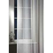 Fehér hímzett voila függöny, Levendula méterben/0016/Cikksz:01140293