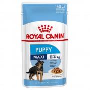 Royal Canin Maxi Puppy comida húmeda para perros - Pack % - 40 x 140 g