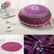 Stenzhorn Bohemian Tapestry Flower Mandala Pillow Case - X4 / 45x45cm