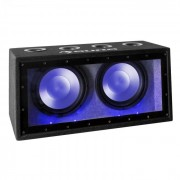 """Cannonbeat TX12 passieve Auto-Subwoofer 2 x 30cm (12"""") 2 x 300W LED"""