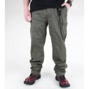 MIL-TEC férfi nadrág - US Feldhose - Oliv - 11805001