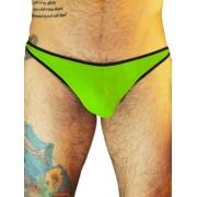 Good Boy Gone Bad Jim T Back Thong Underwear Lime