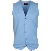 Suitable Gilet Baumwolle Hellblau - Blau M