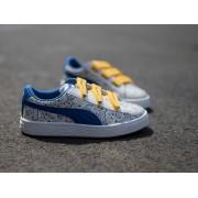 sneaker Puma Minions Basket gyerek cipő 364012 01