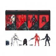Figurine Star Wars Black Series - Pack 4 Figurines Trooper Vision Exclu 15cm