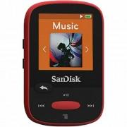 SanDisk Clip Sport Red 4GB MP3 player SDMX24-004G-G46R SDMX24-004G-G46R