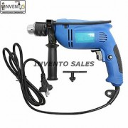 Invento Electric Impact Drill Machine 550 Watt 13mm 2800 RPM Variable Speed Powerful Professional Drill Machine Set