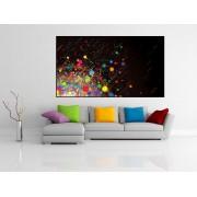 Tablou canvas forme si culori - cod A39