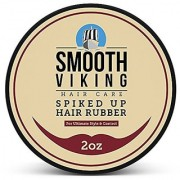 Hair Wax for Men - Strong Hold Styling Formula for All Hair Types - Best Texturizer For Long Short Spiky Wild and Modern Hair Types - 2 OZ - Smooth Viking