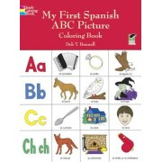My First Spanish ABC Picture Coloring Book, Paperback