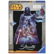 RAVENSBURGER puzzle (slagalice) - Darth Vader silueta RA16158