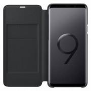 Husa Flip Cover Samsung EF-NG965PBEGWW Book LED View Black pentru Galaxy S9 Plus