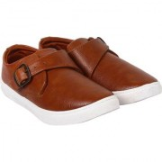 Axter Men Brown-735 Casual Loafers Shoes