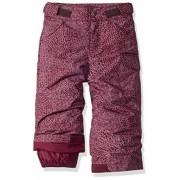 Columbia Starchaser Peak II Pantalón para niña, Purple Dahlia Doodle, X-Large