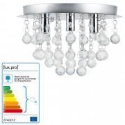 [lux.pro]® Luz de techo - Iluminación colgante - cromo/plata (3 x G9) - lámpara