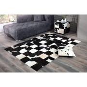 Dizajnový koberec Ralph 195 cm čierna/biela