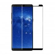 Mica Cristal Templado Para Samsung N950 Galaxy Note 8 Curva 5D Tirple Capa - Negro