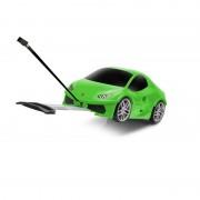 Made In Italy Trolley Cabina per Bambino leggero 4 Ruote Lamborghini Huracan - Welly Ridaz Verde