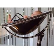 Moon 2G Highchair - Black/Smoky
