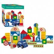 Goula Arquitecturas Pack De 41 Piezas Bloques De Construcción Diset 50203