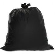 50 Piece Black Polythene Disposable Garbage Bags