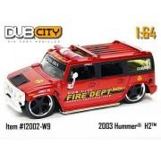 Jada Dub City Fire Dept. 2003 Hummer H2 1:64 Scale Die Cast Car by Jada Toys