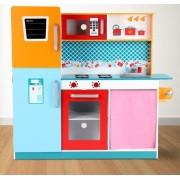 Dětská kuchyňka Infantastic COLOR24 dřevěná 100cm
