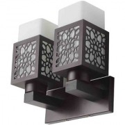 LeArc Designer Lighting Contemporary Glass Metal Wood Wall Light WL1814