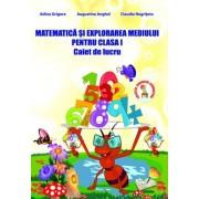 Matematica si explorarea mediului pentru clasa I, caiet de lucru