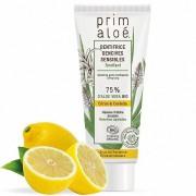 Prim aloé Dentifrice Bio Citron Gencives Sensibles 75 ml – Tonifiant