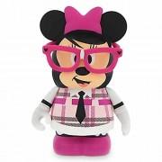 """Disney Parks Exclusive Theme Park Favorites Vinylmation : 3"""" Nerd Minnie Mouse"""