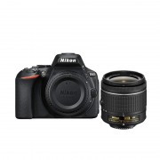 Nikon D5600 Digital SLR Camera with AF-P DX 18-55mm VR Lens and EN-EL14a battery - Black