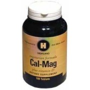 Highland cal-Mag plus d vitamin tabletta 100db