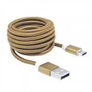 Kabl USB 2.0 na microUSB M/M zlatna S-Box, 1.5m