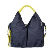 Lässig Bolso cambiador Neckline Bag ''Green Label'', denim blue